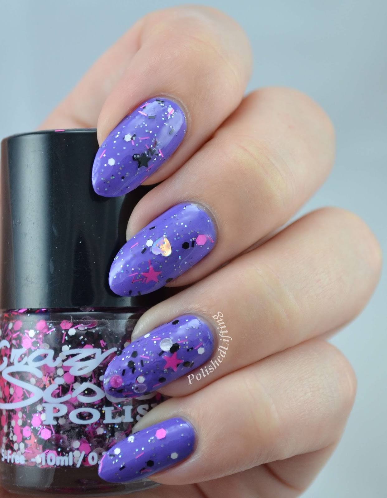 Crazy Sister Polish Pink Rock Star Color Clue Pucci-licious