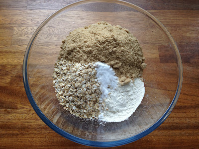 Bowl of dry ingredients