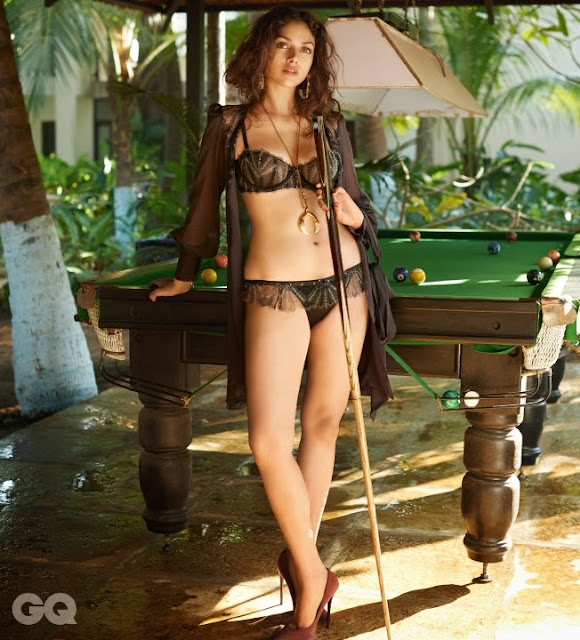 Aditi Rao Hydari Latest Hot Bikini Photoshoot | HD Stills | GQ India Magazine May 2015