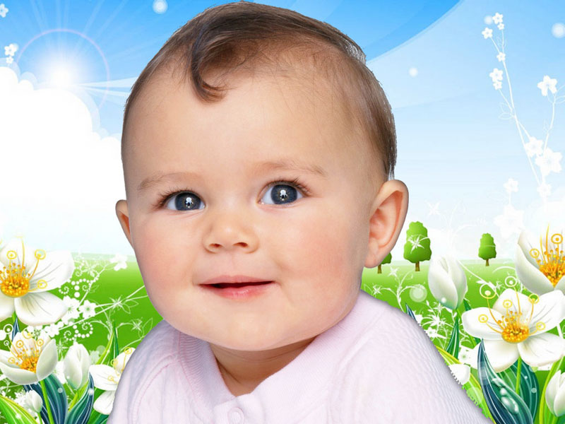 Wallpapers Download: Beautiful Babies Wallpapers