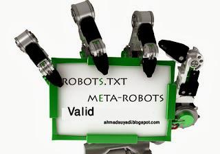 Cara Membuat Robots.txt Valid