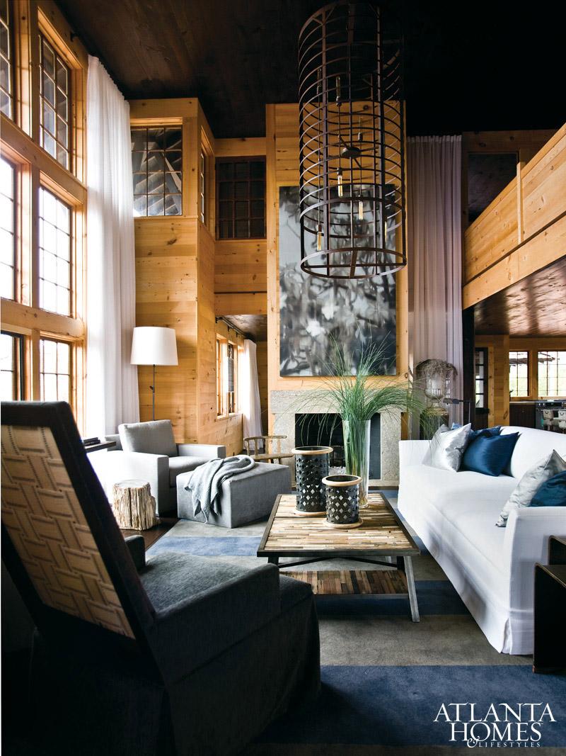 Design dump luxe at the lake for Interieur villa design