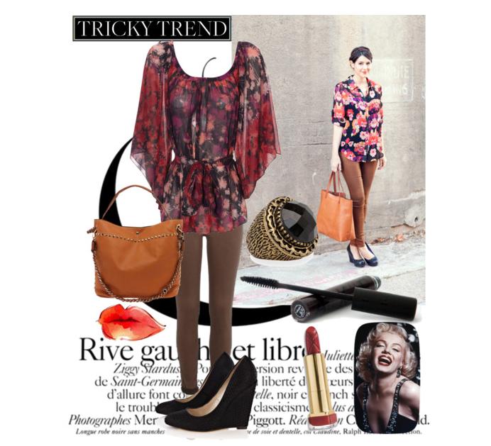 Trendy and Hippie. image