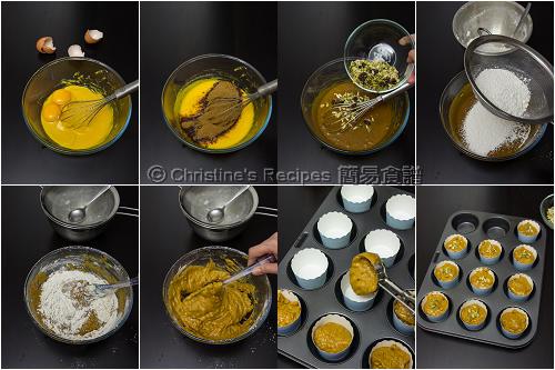 南瓜乳酪瑪芬製作圖 Pumpkin Yoghurt Muffins Procedurex02