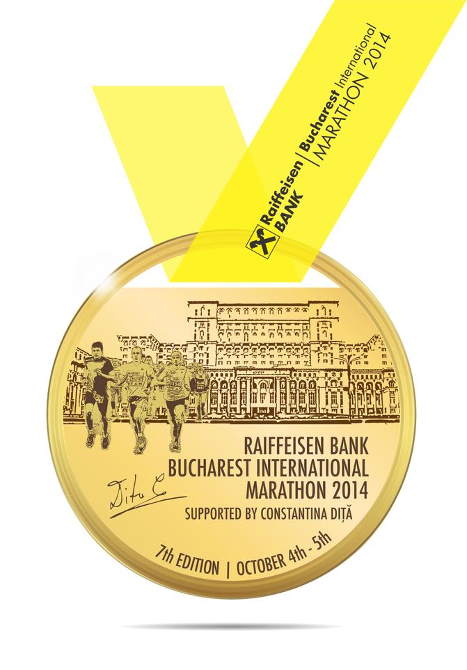 Ce suplimente voi folosi la Maraton Internaţional Bucureşti 2014. Medalia