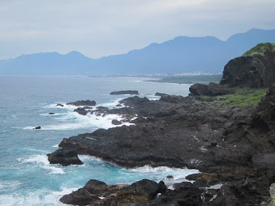 Pacific Ocean View at Sanxiatai in Taitung