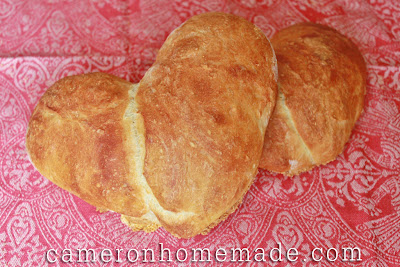 Heart-Shaped Loaves