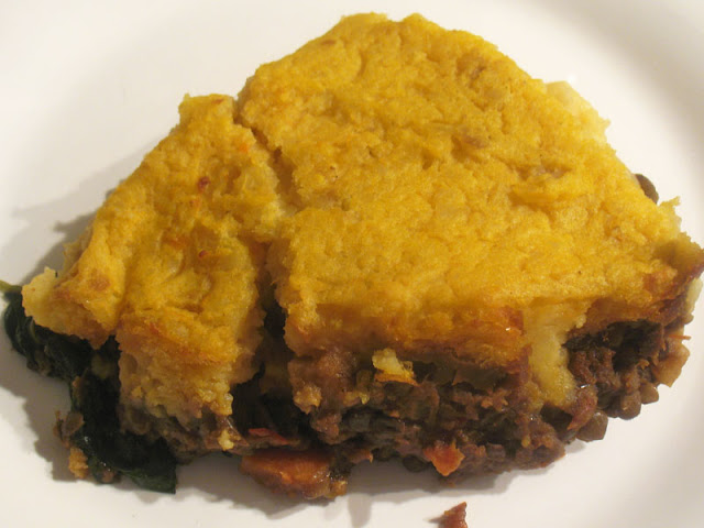 curried vegetarian shepherd pie