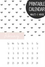 Free heart Calendar: