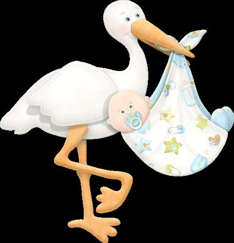 IMÁGENES DE BABY SHOWER: CIGÜEÑA Y BEBES