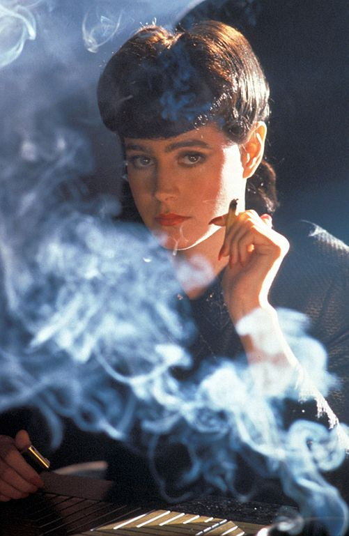 A girl of Blade Runner City