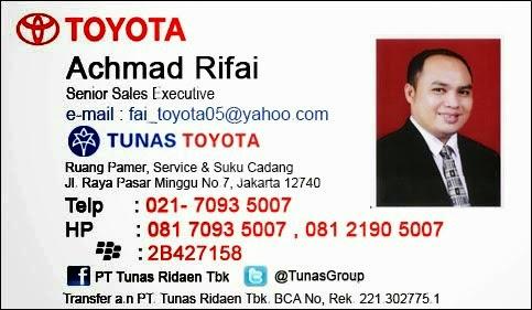 Rekomendasi Sales Tunas Toyota Setia Budi | Jakarta Selatan