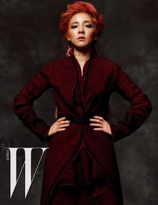 Dara 2NE1 W Magazine November 2015