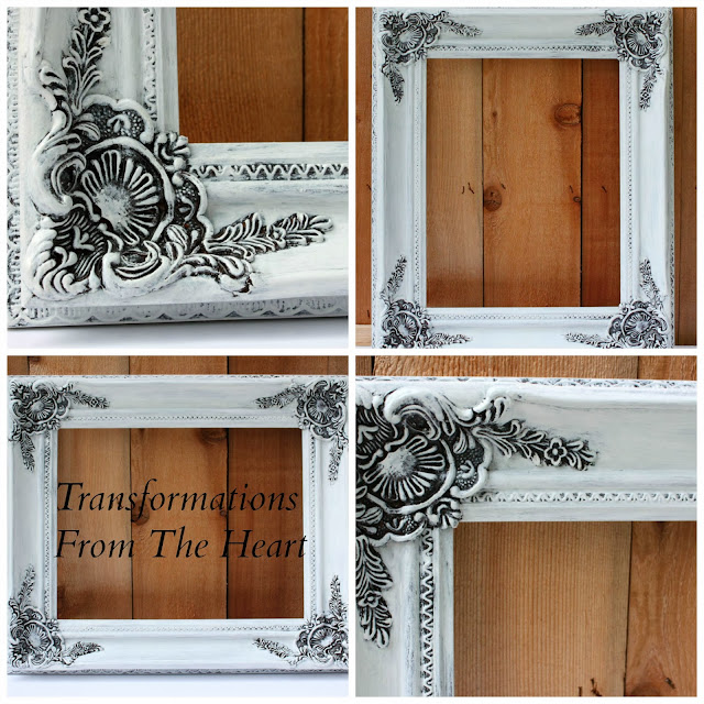 ornate frame hand painted