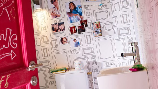 Wc, Toilettes, Pipi-Room La Déco Du Petit Coin!   Couleurs Et