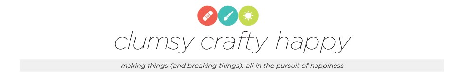 clumsy crafty happy
