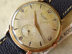 UNIVERSAL SUB SECON BIG SIZE 39mm - GOLD FILLED 20micron - MANUAL WINDING CAL 262