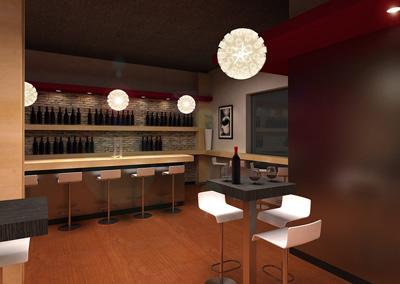 Dise o de bares interiores por paulina aguirre blog de for Bar casa minimalista