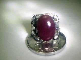 Batu Cincin Ruby Afrika