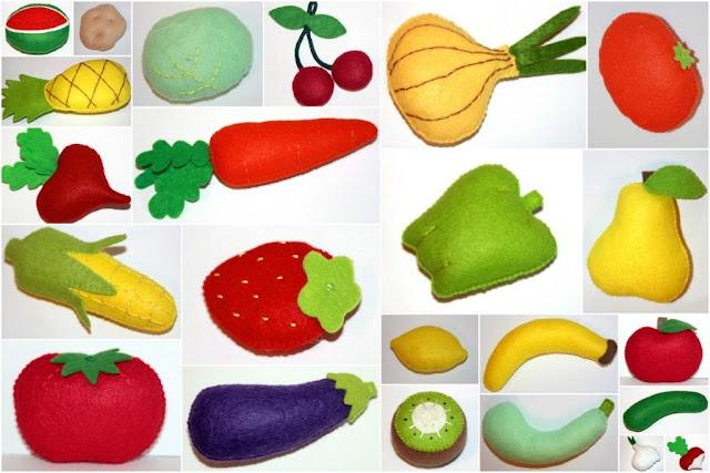Овощи фрукты своими руками дети