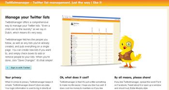 gestiona tus listas de Twitter con Twilistmanager - http://www.dominioblogger.com
