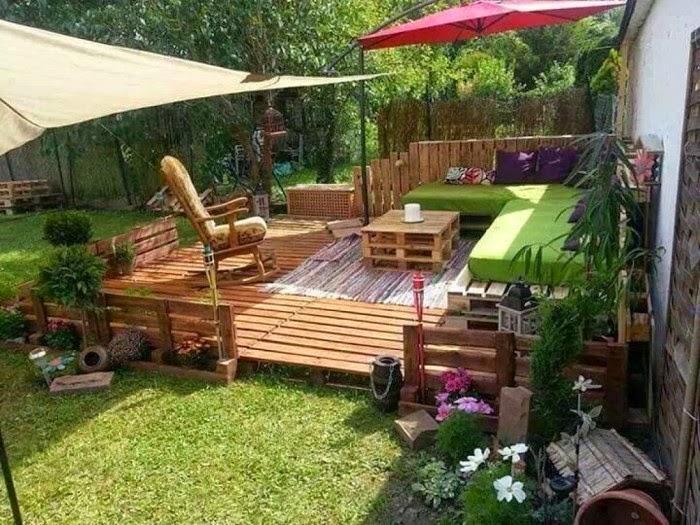 أفكار مبتكرة لإعادة استخدام المنصات الخشبية القديمة