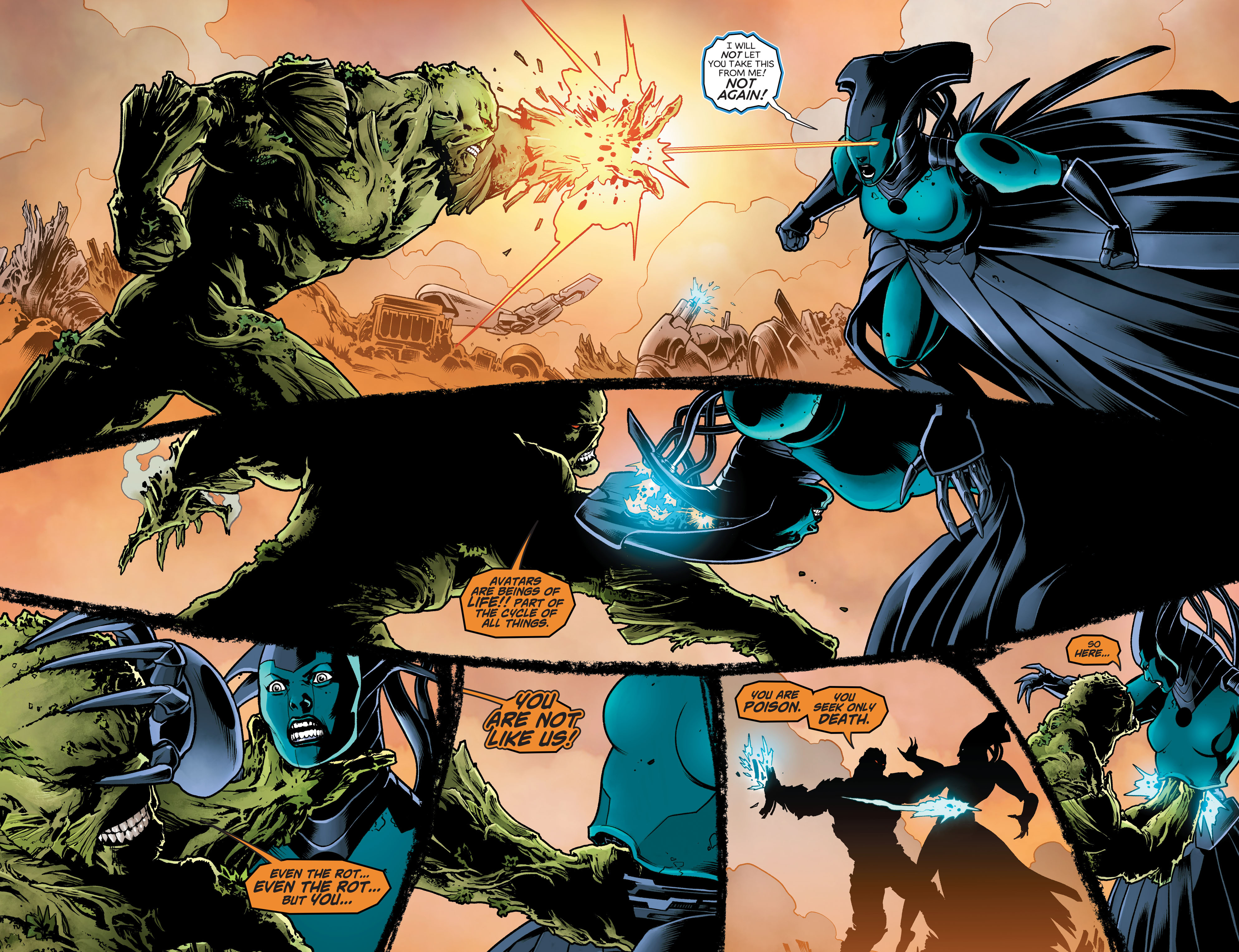 Swamp Thing (2011) Issue #40 #45 - English 22
