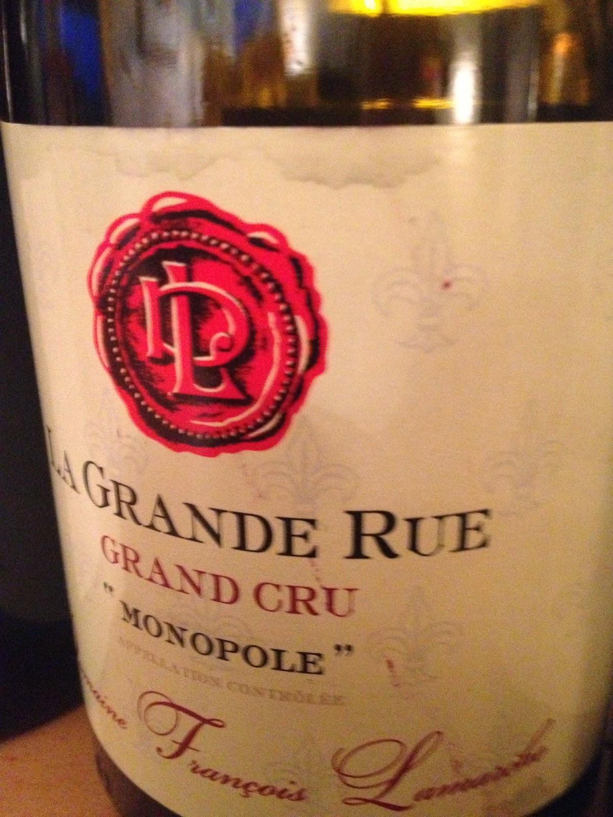 My wines and more 90 comtesse 10 grande rue 05 jardins for Grand jardin wine