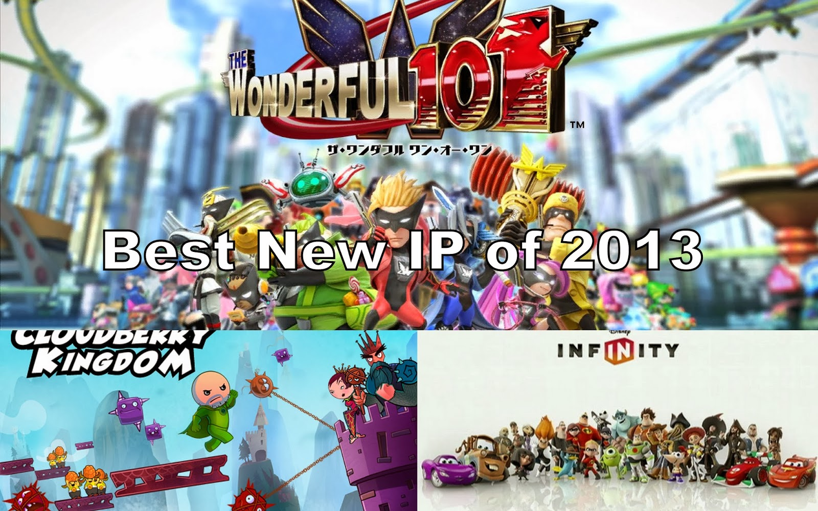 New Wii U Games 2013 : The wii u lobby video game awards ☆ best new ip