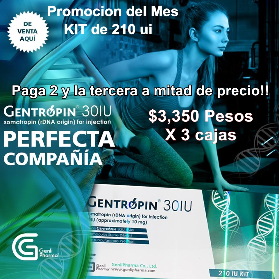Gentropin 210 ui promocion