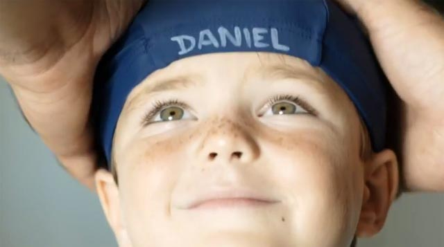 Daniel, el niño anuncio de Nutella