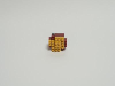 ナノブロックで作ったやきいも