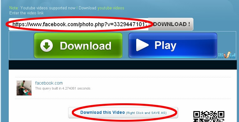 how to download facebook vids to pc