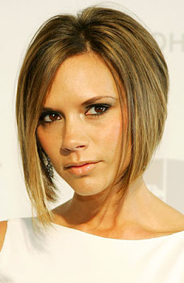 Model Rambut 2012 - Victoria Beckham