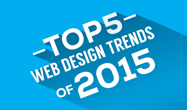 5 web design takeaways from 2015 - #infographic