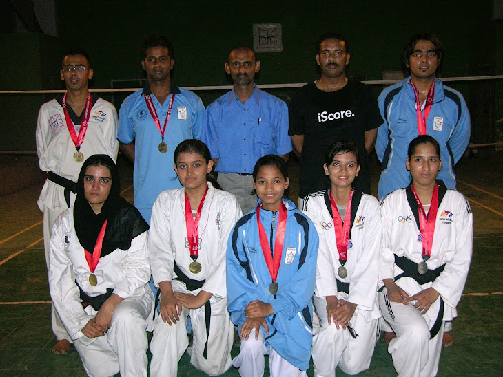(F.K's TKD Academy )Medal Holders Players in Sindh Games 2011