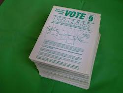 VOTE  DES-LÍMITES