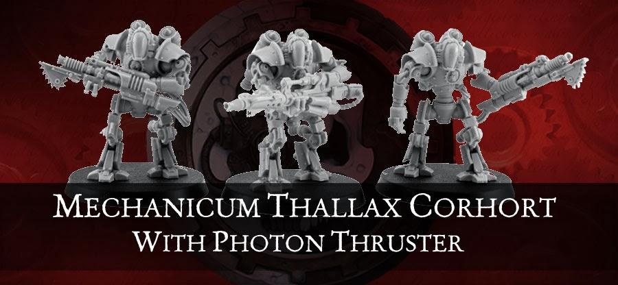 Mechanicum Thallax Cohort del Ordo Reductor añadiendole un el nuevo Photon Thruster