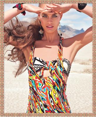 Fashion Mania: Agua Bendita Spring/Summer 2012 Swimwear