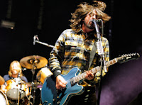 Foo Fighters live image from Bobby Owsinski's Big Picture blog