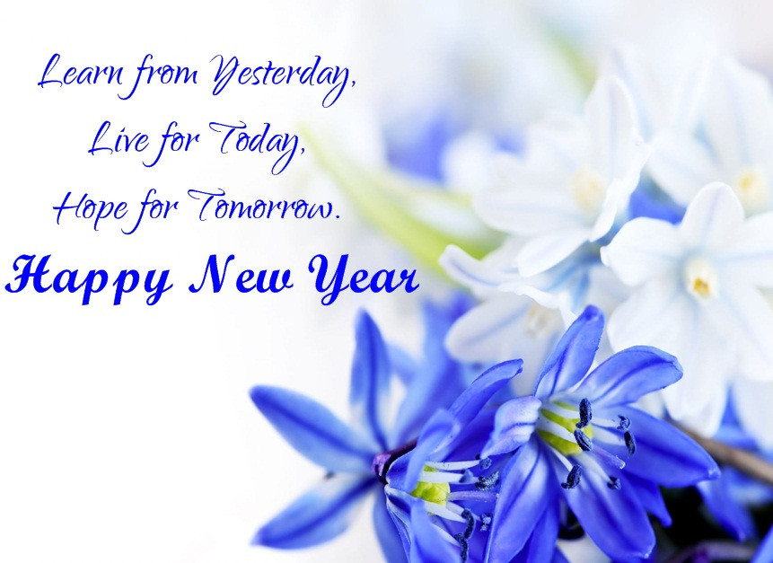 Inspiring Happy  New Year Greeting
