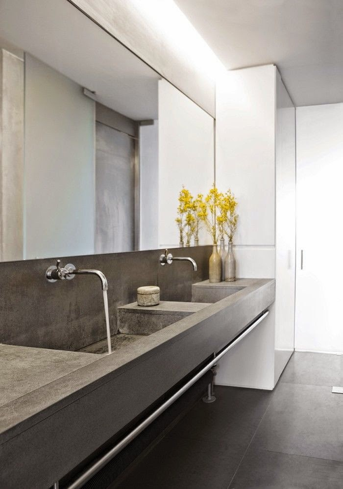 27 baños minimalistas en fotos cuando menos es más