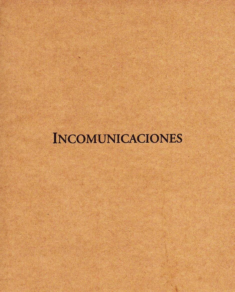 Incomunicaciones