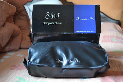 Irresistible me 8-in-1 Sapphire Hair Curling Kit