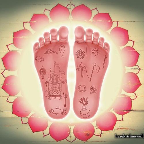 Radha Rani's Lotus Feet