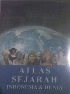 Buku Atlas Sejarah Indonesia dan Dunia