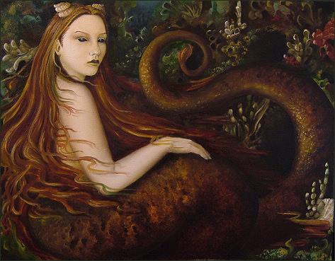 Hada Melusina: Mujer Serpiente