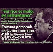 """¡Recuerda Venezuela!: """"Ser RICO es MALO."""