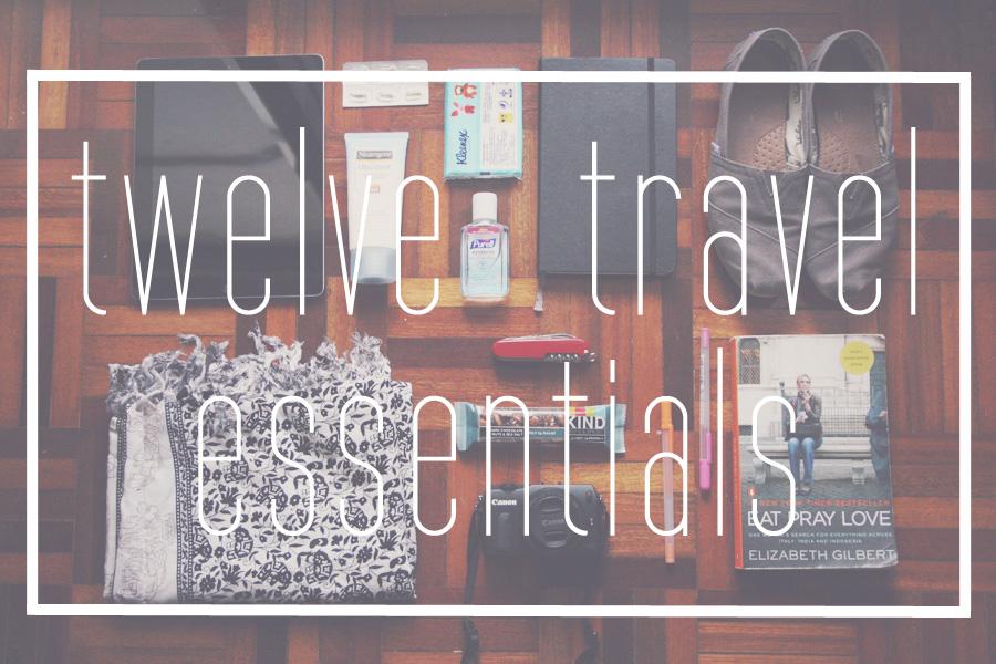 Ink Adventure Packing List My 12 Travel Essentials