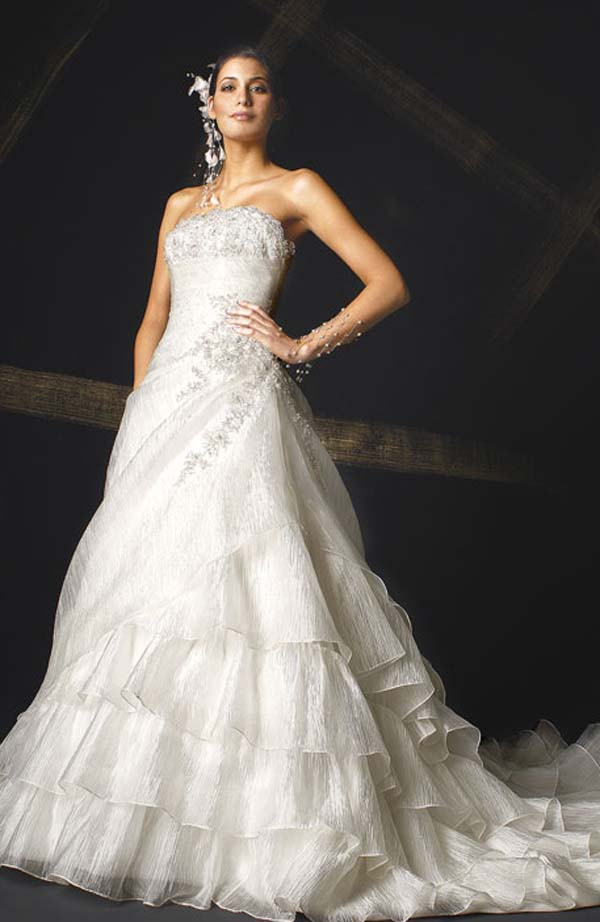 Romantic Bridal Gowns : Romantic wedding gowns collection planning married